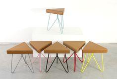 Três | Stool Table - GALULA - Follow the FUN-ction !