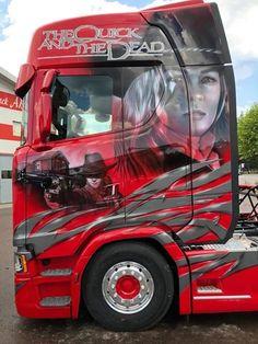 Show Trucks, Big Rig Trucks, Old Trucks, Pickup Trucks, Customised Trucks, Custom Trucks, Trailers, Scania V8, Custom Big Rigs