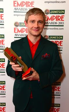 Martin voted Best Actor by the readers of Empire Magazine.  Martin won for his role as Bilbo Baggins in The Hobbit: An Unexpected Journey.