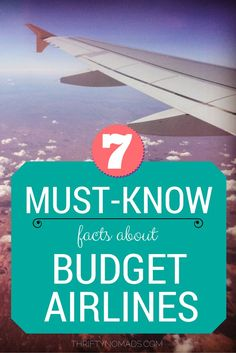 Are budget airlines safe, and are they ACTUALLY cheaper with all the fees? Heres what you need to know! #budgettravel #budgetairlines