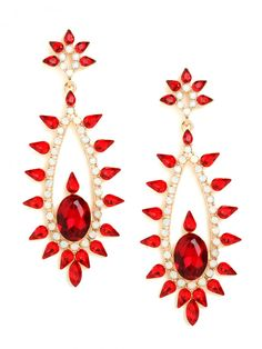Our Ruby Akasha Drops.. elegant + luxe