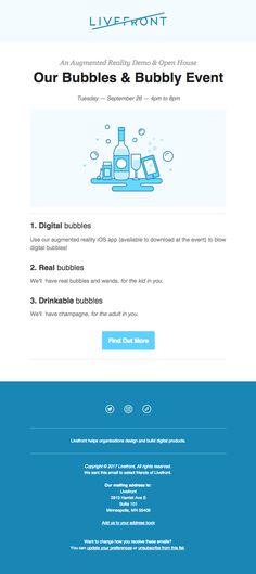 61 Best Events Emails Images Best Email Email Newsletter Design
