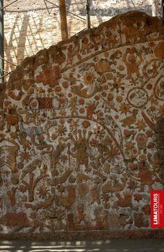 Amazing #design found in the #Temple of the Sun and the Moon (Huaca del Sol y la Luna) of the #Mochica Culture, #Trujillo - #Peru