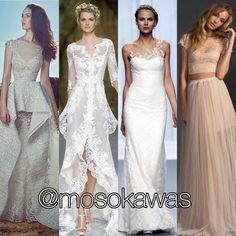 Mosokawas - Fashion Reviews Four Ladies Mosokawas Brides: #beachwedding Photos: 1- @zuhairmuradofficial; 2- @pronovias; 3- @rosa_clara; 4- Pinterest #mosokawas #lookdodia #lookoftheday #moda #estilo #style #insta #fashion #pinterest #ootd #outfit #outfitoftheday #instafashion #bride #wedding#casamento #festa #sexybride #weddingdress #noivas #zuhairmurad #praia #casamentozeras #rosaclara #beach #pronovias