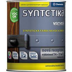 Syntetika S2013 U Zománcfesték - 990Ft – 8990Ft Syntetika s2013 - Zománcfesték Alapozott kültéri és beltéri fafelületek (bútorok, nyílászárók stb.), továbbá kültéri és beltéri fémszerkezetek (kerítés, csövek stb.) átvonó festésére használható. Bevonata az időjárás behatásainak tartósan ellenáll, fényességét, színét megőrzi. Felhasználási javaslat Az új, légszáraz fából, forgácslapból, illetve farostlemezből készült faszerkezetek (nyílászárók, bútorok stb.) f