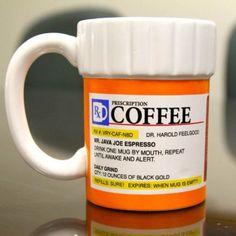 Taza frasco de pastillas - Tienda de regalos originales QueLoVendan.com