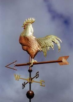chanticleer rooster weather vane