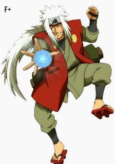 Un pervertido de lo mas genial y el maestro que muchos quisiéramos tener el gran Jiraiya