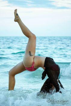 Yoga in the Bahamas!