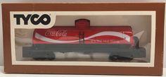 TAS039594 - Tyco 40' Tank Car Coca-Cola 315L Train Locomotives HO Scale