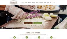 Webdesign - Hopballe Mølle 2016