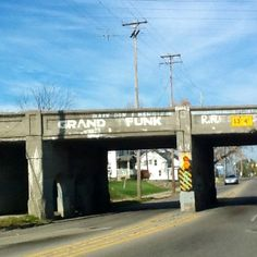 Grand Funk in Flint Michigan I remember seeing this all the time!