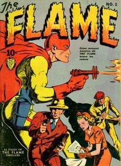 COMIC_flame_1 #comic #cover #art