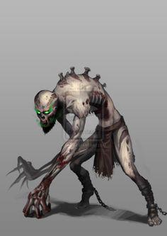 Ghoul in street