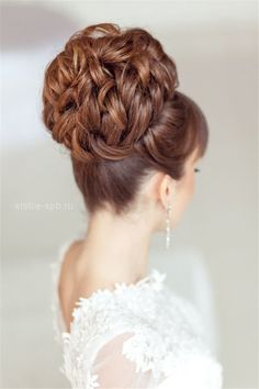 topknot wedding updo hairstyle