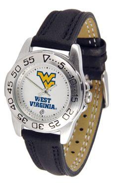 West Virginia Mountaineers Gameday Sport Ladies' Watch
