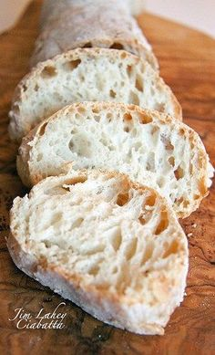 No Knead Ciabatta | Blog Ultra easy it just needs a little time & patience