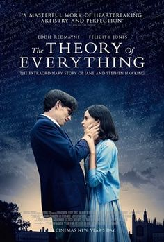 The Theory of Everything, starring Oscar-winner Eddie Redmayne, will be showing on Tuesday, March 24, 2015 at 6:30 PM in the Main Library Theater. Admission is free. Seating is limited and on a first-come, first-seated basis. The doors open at 6 PM. For more information, please contact 260-421-1210.
