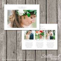Photography Price Guide Template by Stillbrook Designs on @graphicsmag