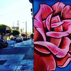 Stop and smell the roses #sanfrancsico #streetsofsf #nowrongwaysf #eyespysf #streetart #graffiti #sf #bayarea #california