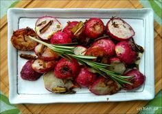 Roasted Radishes with Truffle Dip - Upbeet Dietitian
