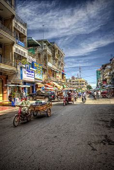 Phnom Penh - South Cambodia