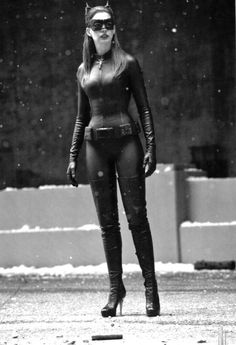 :: Sweet Mercy those boots! : Anne Hathaway as Catwoman in The Dark Knight Rises :: The Dark Knight Trilogy, The Dark Knight Rises, Batman The Dark Knight, Anne Hathaway Catwoman, Dark Knight Rises Catwoman, Catwoman Selina Kyle, Videogames, Im Batman, Real Batman