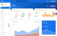 Atlantis is a bootstrap 4 admin dashboard that is beautifully and elegantly designed to display various metrics, numbers or data visualization. Atlantis admin dashboard has 8 layouts, 26 plugins and Ui Components, Bootstrap Template, Dashboard Design, Dashboards, Data Visualization, Atlantis, Bar Chart, Coding, Messages