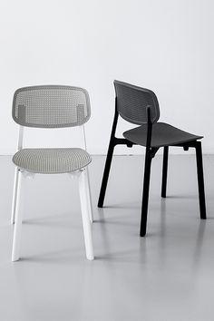 Colander Stackable Chair https://propertyfurniture.com/product/colander-chair/ See also: 25 Design Stacking Chairs http://vurni.com/design-stacking-chairs/