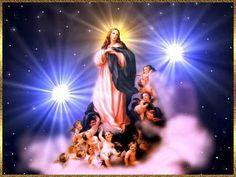 Oración a MARIA REINA DE LOS ANGELES