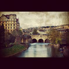 River Avon in Bath England by kindred threads, via Flickr