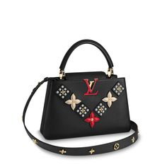 - Official Website UK - Capucines PM Capucines Discover our selection of Handbags for unique gifts, exclusively available on the Official Louis Vuitton Website and in Louis Vuitton Stores Luxury Handbags, Fashion Handbags, Fashion Bags, Designer Handbags, Fashion Backpack, Louis Vuitton Handbags, Purses And Handbags, Zapatillas Louis Vuitton, Mode Glamour