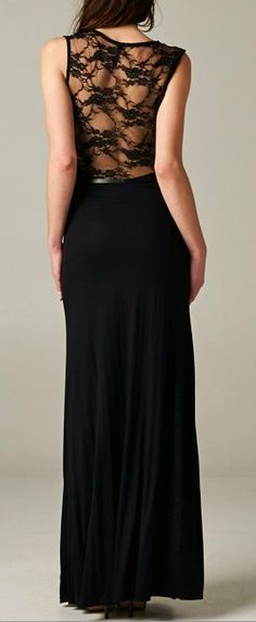 Someone find this for me for the USMC ball. kthxbai Brenna Dress With Lace Back