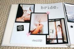 wedding scrapbook pages - Google Search