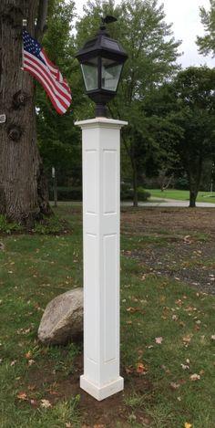 17 best cedar lantern posts azek lantern post sleeves images on all azek 8x8x72 raised panel lantern post sleeve aloadofball Image collections