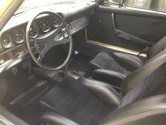 Porsche 911T interior