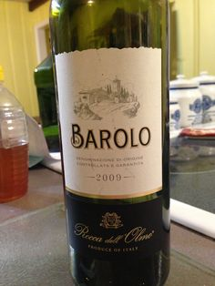 Decent Barolo, not as rich as I hoped