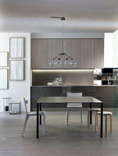 Modular fitted kitchen INDada by DADA | design Nicola Gallizia