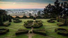 jardin du château de la Ballue près de Saint Malo