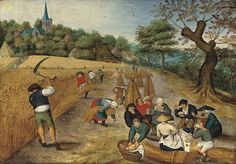 Pieter Brueghel.  Summer. The Harvesters.  Masterpieces at Christie's   Highlights from Summer London Sales   Special Exhibition   Christie's