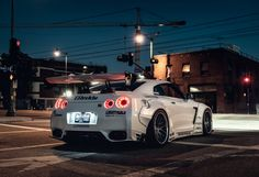 This HD wallpaper is about white sports coupe, nissan, gtr, car, Original wallpaper dimensions is file size is Nissan Gtr 35, Gt R, Skyline Gtr, Nissan Skyline, Nissan Gtr Wallpapers, Liberty Walk Cars, Supercars, Japanese Cars, Ford Gt