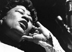 "Ella Fitzgerald found herself caught up in the emotions that night. After singing several songs, Ella Fitzgerald realized her time on stage was limited. As (happy) tears ran down Ella Fitzgerald face, she started to reflect on the early days and long dark bus rides as well as the low pay. Before leaving the stage, Ella Fitzgerald said ""the nurse wrapped me in a clean rag at birth, but I'm ending life in haute couture."""