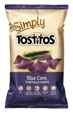 Simply Tostitos Blue Corn Tortilla Chips 9 oz * Click on the image for additional details.Note:It is affiliate link to Amazon.
