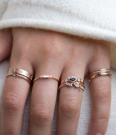 Dainty rings