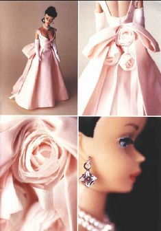 Vintage Barbie, free dress pattern