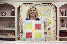 Wishes Quilt Along Block Nine: Dove in the Window - Fat Quarter Shop