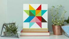 Paint a Geometric Star