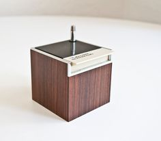 1970s Mod Cube Realistic Weather Radio by kibster on Etsy