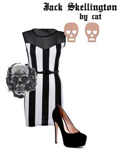 Can I have this Jack Skellington inspired outfit? PLEASE.