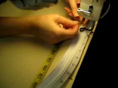 Video installing zippers on long arm quilt leaders for easy quilt loading